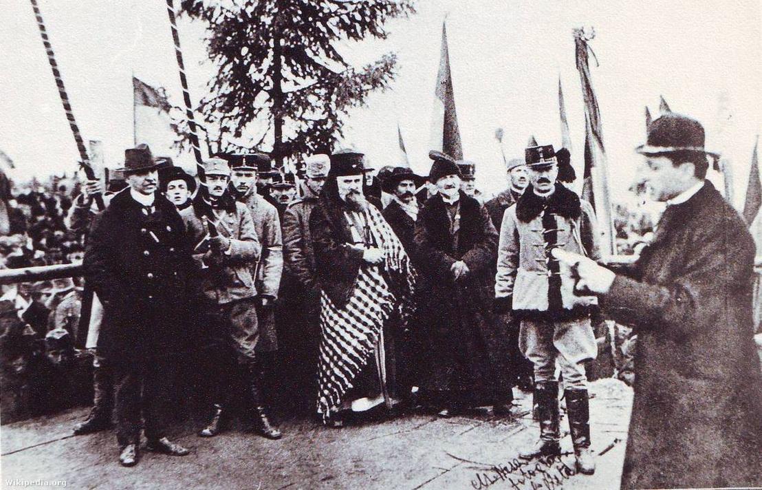 UniónDeTransilvaniaARumanía1918