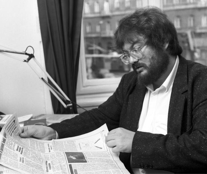 Szőcs Géza 1989-ben