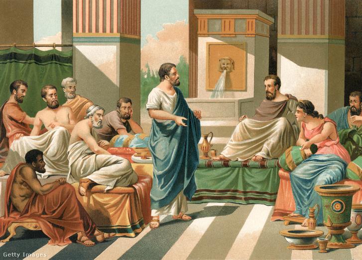 A hét görög bölcs (Thalész (Milétosz) Biasz (Priéné) Szolón (Athén) Pittakosz (Mütiléné) Kleobulosz (Lindosz) Khilón (Lakedaimón) Periandrosz (Korinthosz))