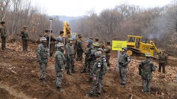 Ismét délre szökött egy észak-koreai katona