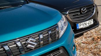 Teszt: Mazda CX-3 G121 - Suzuki Vitara 1.0 Boosterjet – 2018.