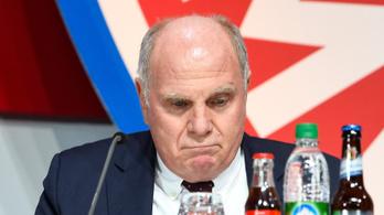 Kifütyülték a Bayern München elnökét az éves közgyűlésen
