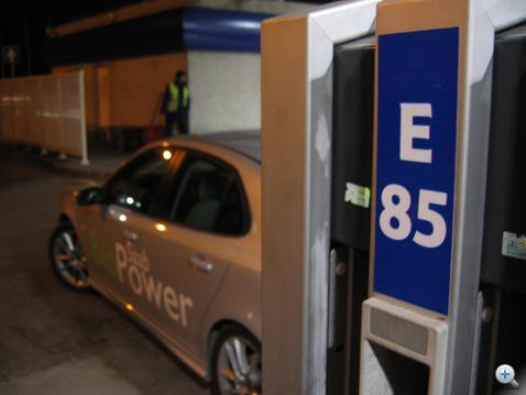 Kékkúti üzemanyag