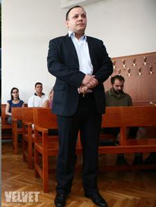 Damu Roland a bíróságon