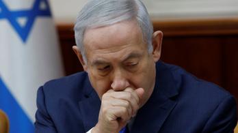 Vádat emelhetnek Netanjahu ellen, vesztegetés gyanújával