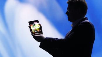 Ellopták a Samsung hajlított kijelzős technológiáját