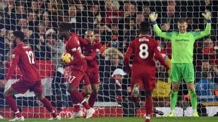 A Liverpool szenzációs potyagóllal nyert a 96. percben
