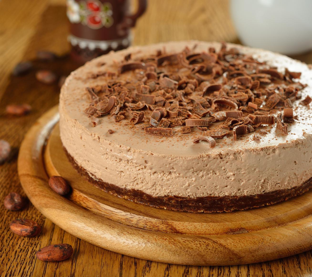 Gyors, kakaós sajttorta: ha nincs kedved bekapcsolni a sütőt