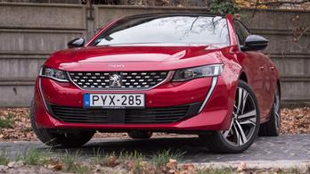 Teszt: Peugeot 508 GT – 2018.