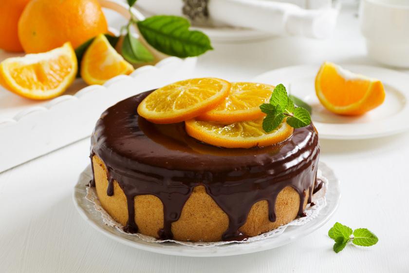 Mennyei, csokis, narancsos torta: az alapja egyszerű, puha piskóta