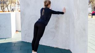 Lendülj formába otthon: gyakorlatok, amikhez csak egy fal kell