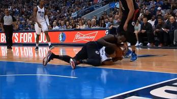 Kiverték az NBA-s fogát, meccs végére vissza is rakták