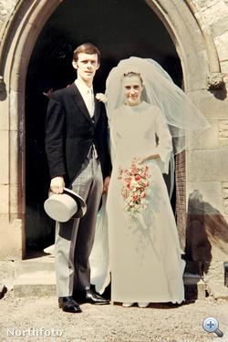1970. április 18. - Nicola Goodwin szüleinek esküvője