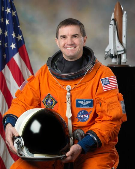 Rex Walheim (Fotó: Bill Stafford, NASA)