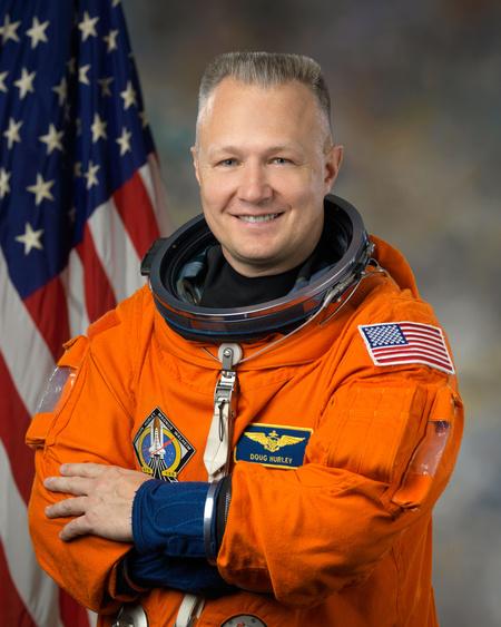 Douglas Hurley (Fotó: Bill Stafford, NASA)