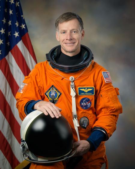 Christopher Ferguson (Fotó: Bill Stafford, NASA)