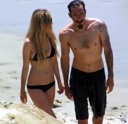 Marisa Miller, bikini- és fehérneműmodell férjével, Griffin Guesszel