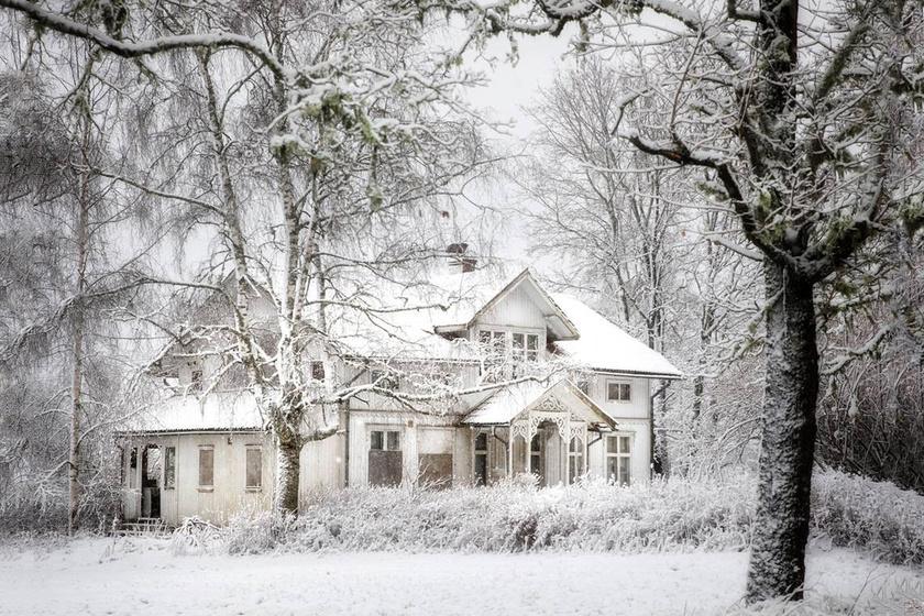 Az Északi-sarkvidék elfeledett házai gyönyörűek: hiába a hideg, tökéletes az idill