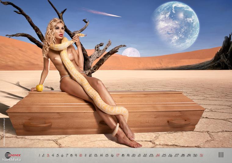 de ami azt illeti, ez a lengyel koporsós cég, a Linder már 2009 óta ad ki ilyen naptárakat.