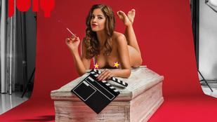 Meztelen nőkkel a koporsós naptárat is el lehet adni