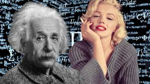 Marilyn Monroe tényleg okosabb volt, mint Einstein?