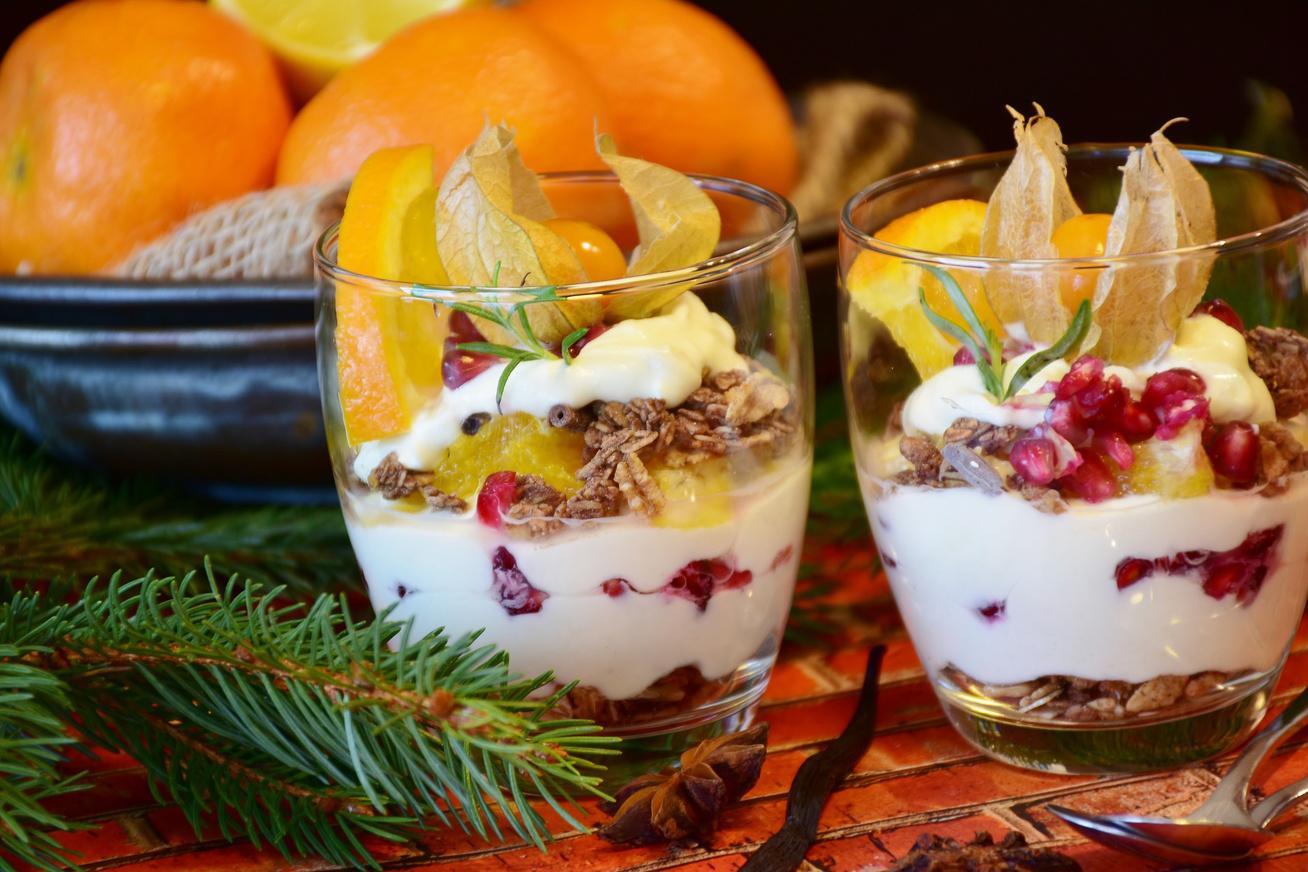karácsony étel recept  (3) túrós pohárkrém