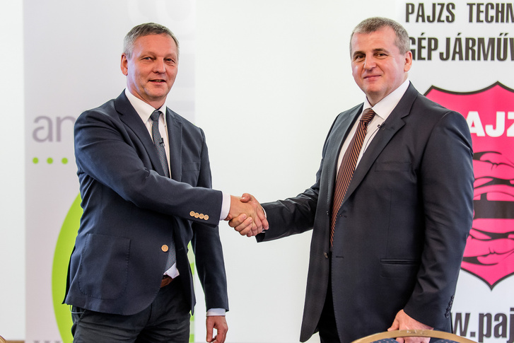 Antenna Hungária - Pajzs Kft. együttműködés