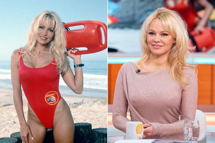 """Casey Jean """"C. J."""" Parkert az 51 éves Pamela Anderson formálta meg. A színésznő nagy állatvédő hírében áll, nem is eszik húst egyáltalán. Két fia van, a 22 éves Brandon és a húszéves Dylan."""