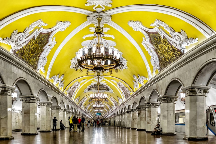 Metróállomás, ami olyan, mint egy palota - Képeken a világ 10 legszebb felszín alatti állomása