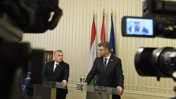 Orbán Zágrábban: A tüskét ki kell húzni a köröm alól