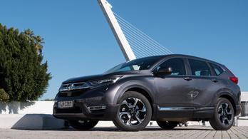 Bemutató: Honda CR-V Hybrid – 2018.