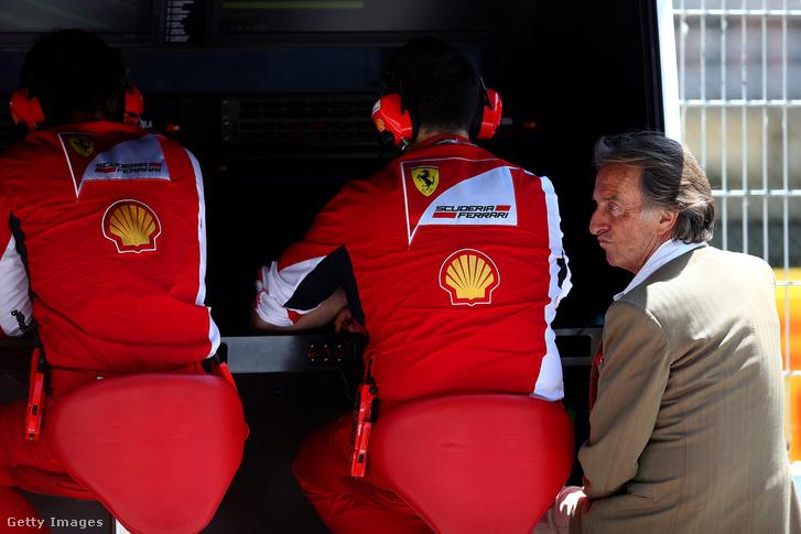 Montezemolo utolsó évében a Ferrarinál