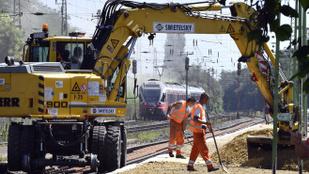 Februártól nem járnak a vonatok Pécel és Aszód között