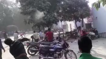Leölték a teheneket Indiában, erre véres tüntetés, rendőrgyilkosság lett a válasz