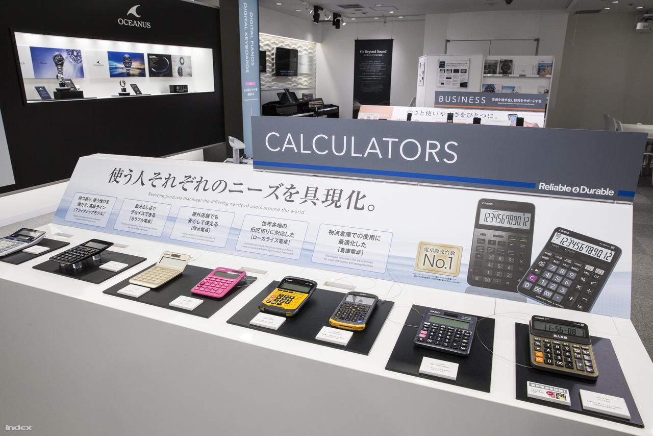 Számológépek fejlesztésével, gyártásával a 21. százaban sem állt le a Casio, továbbra is a szegmens piacvezetője a japán cég.