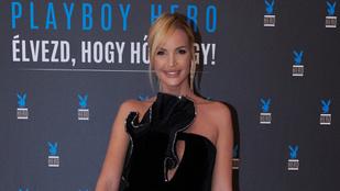 Zimány Linda és Kedves Ferenc is ott volt a Playboy Hero gálán