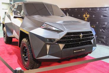 Ez a szögletes Batmobil volna a Karlmann King