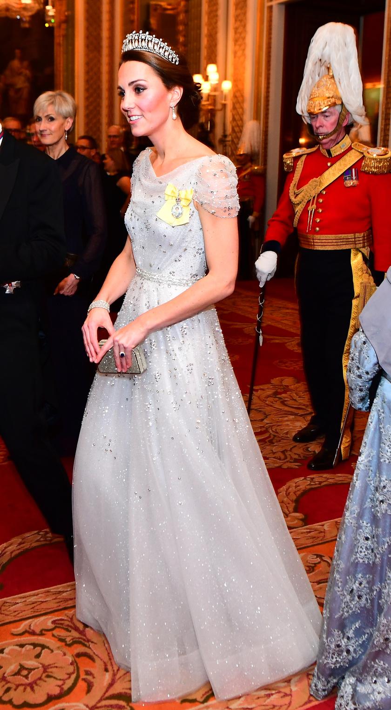 Katalin hercegné csodaszép volt ebben a csillogó estélyiben.