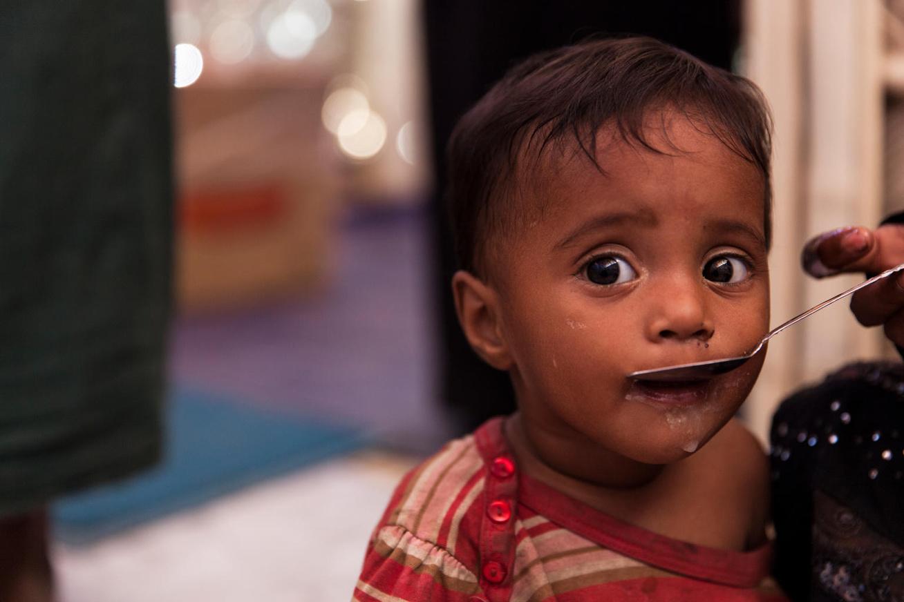 Rohingya kisfiú