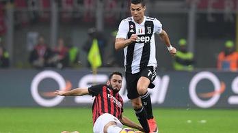 A kínaiak miatt nem igazolt Ronaldo a Milanba