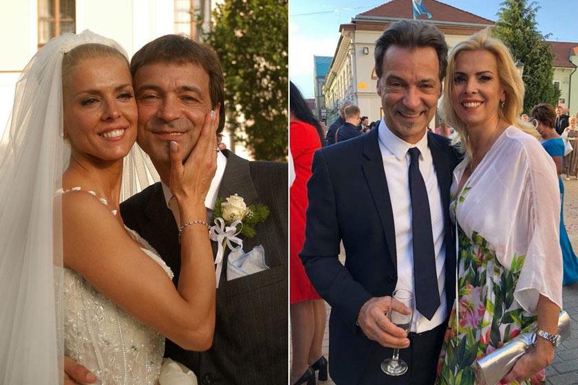Hajas László 21 éve imádja Juditot, 2005-ben tartották meg az esküvőjüket.
