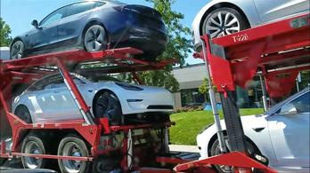 Már napi ezer Model 3 fölött jár a Tesla