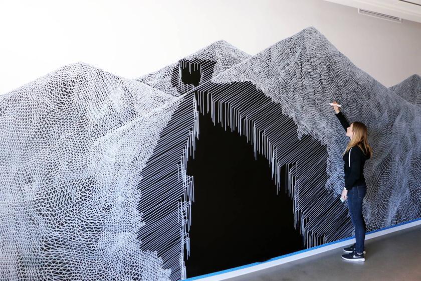 Hihetetlen, de ezek a képek egyszerű vonalakból állnak - Bámulatos optikai illúziók