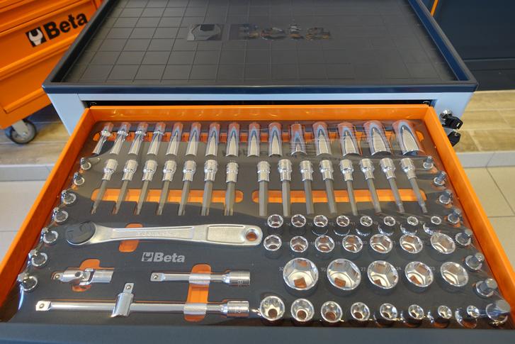 A Racsnis-kulcs készlet, alatta egy ugyanilyen van csak két másik méretben