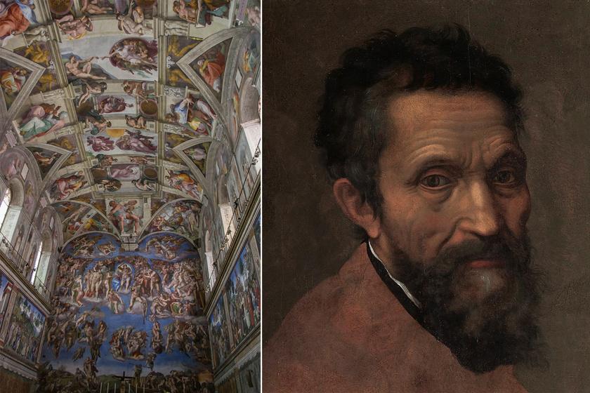 Meglepő részlet a Sixtus-kápolna mennyezetén: Michelangelo nem véletlenül festette oda