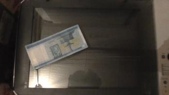 Fénymásolt pénzt vertek el dombegyházi férfiak