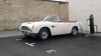 Az Aston is villanyosítja veteránautóit