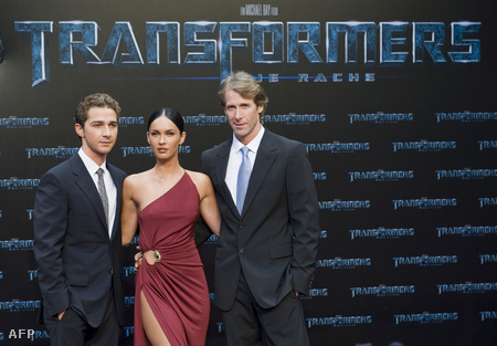 Shia LaBeouf, Megan Fox és Michael Bay