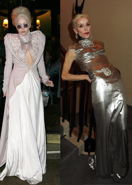 Lady Gaga és Daphne Guinness - kattintson a képre!