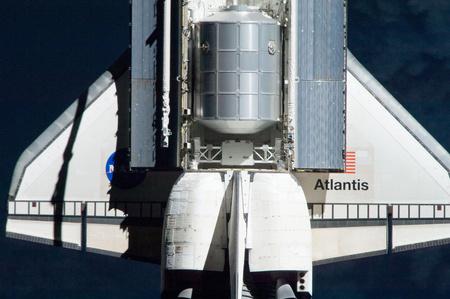 A Raffaello az Atlantis rakterében (Fotó: NASA)